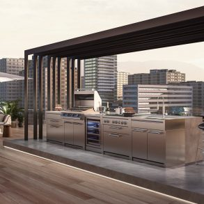 steel outdoorkitchen-attico-mood