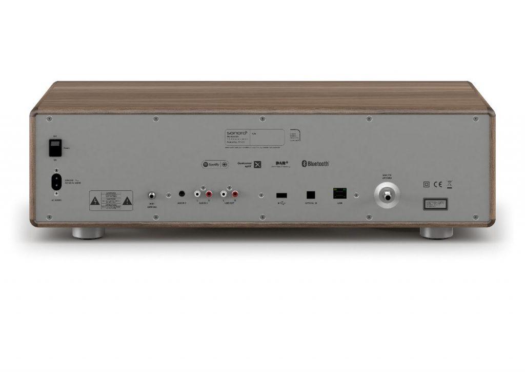 sonoro MEISTERSTÜCK Ansicht von hinten - hochwertiges All-In-One Musiksystem
