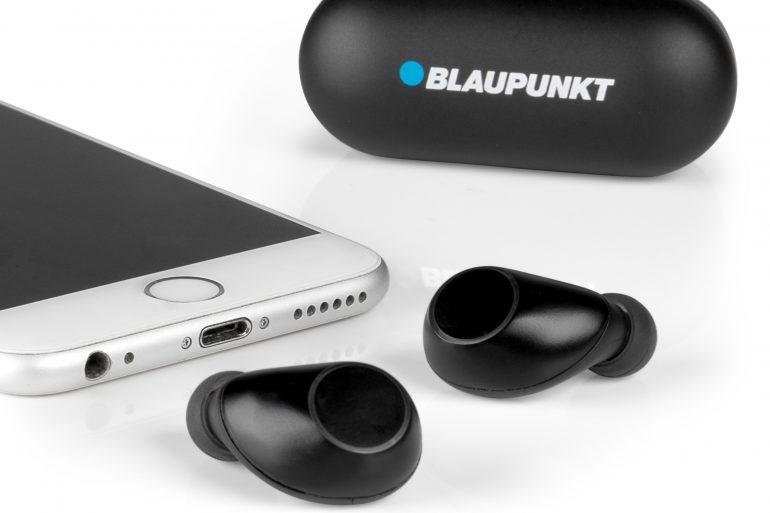 Earbuds, kabelloser In-Ear-Kopfhörer: Blaupunkt_BTW10_BK