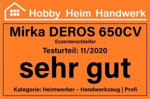 Mirka DEROS 650CV Exzenterschleifer