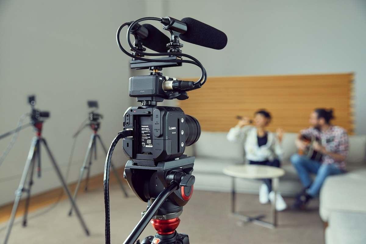 Panasonic Box-Style-Kamera LUMIX BGH1