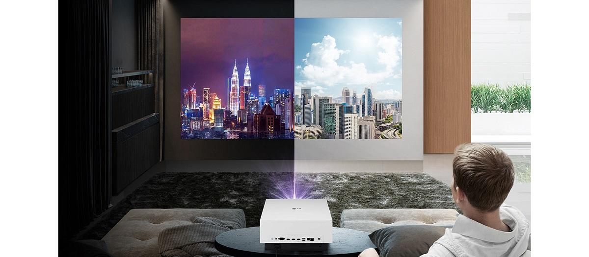 LG-Laserprojektoren CineBeam