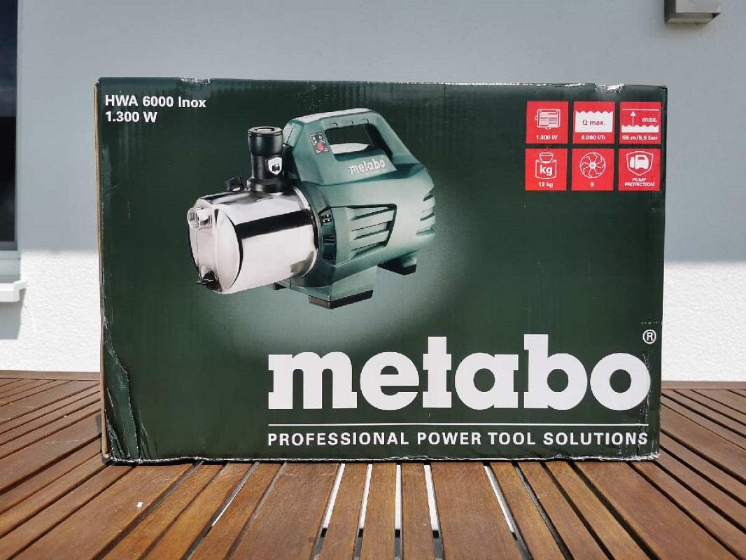 metabo HWA 6000 INOX
